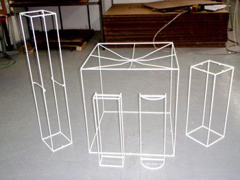 Lamp Shade Rings Lampshade custom wire form lampshade frames audiocablefo